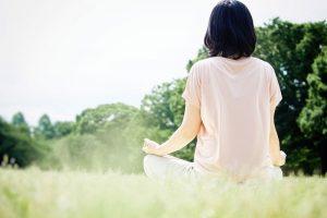 瞑想 - 不眠症